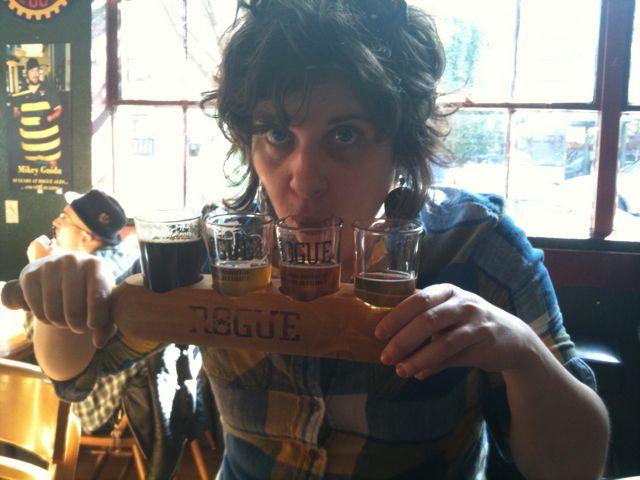 Rogue Beer Sampler