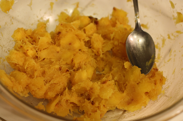 Acorn Squash topping