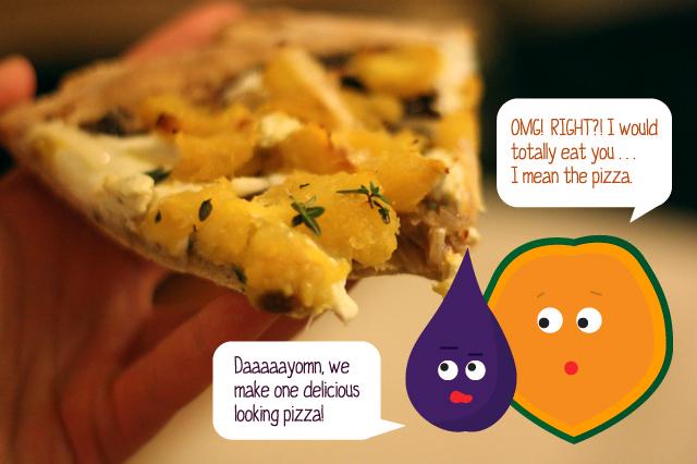 Pizza Veggie Buddies!
