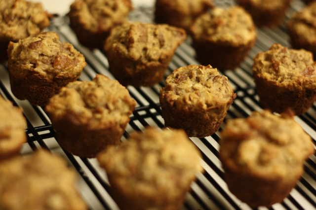Asian Pear and Almond Muffins